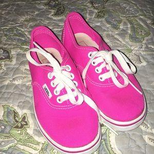 Girl's Vans Tennis Shoes